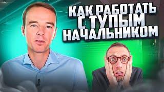 Я начальник, ты дурак! Как работать с ТУПЫМИ РУКОВОДИТЕЛЯМИ? Владимир Якуба. СОВЕТЫ.