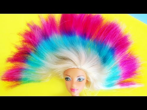 DIY Barbie Hairstyle, Shoes, Bags and More Hacks and Crafts