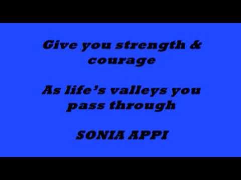 Babul Ki Duayen Leti Jaa Dedicated to Sonia Appi