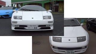 headlight ヘッドライト 同じらしい Lamborghini Diablo & NISSAN Z32 Fairlday Z  ランボルギーニ ディアブロ 後期 & 日産 Z32 フェアレディZ
