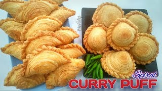 KARIPAP PUSING SUPER RENYAH - Spiral Curry Puff