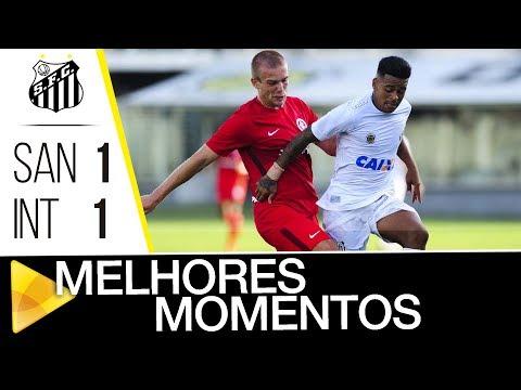 Santos 1 x 1 Internacional | MELHORES MOMENTOS|  Brasileiro de Aspirantes (10/12/17)