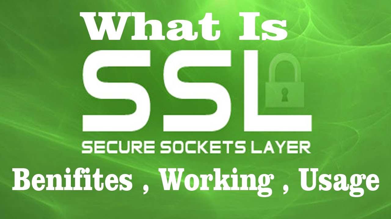 1 What Is Ssl Certificate And Benefits Of Ssl Youtube