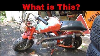 garage sale finds, Rare mini bike