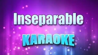 Cole, Natalie - Inseparable (Karaoke version with Lyrics)