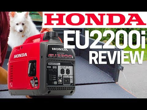 ⚡️Honda Generator EU2200i Full Review - Upgrade to Honda EU2000i Best Generator 2019