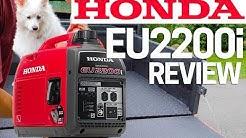 ⚡️Honda Generator EU2200i Full Review - Upgrade to Honda EU2000i Best Generator 2020