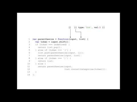 Writing a Lisp interpreter in JavaScript - Mary Rose Cook