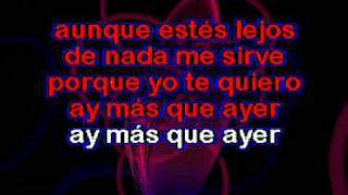Karaoke-Contra la corriente MARC ANTHONY