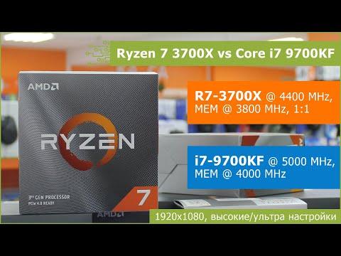 Ryzen 7 3700x Vs Core I7 9700kf Fullhd High Ultra Settings Youtube