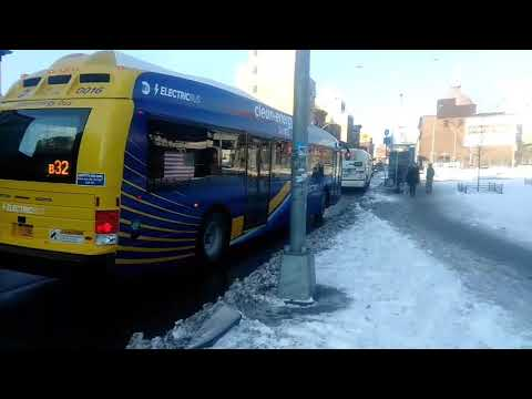 Ride on New Electric buses from New Flyer and Proterra (BE40+XE40)