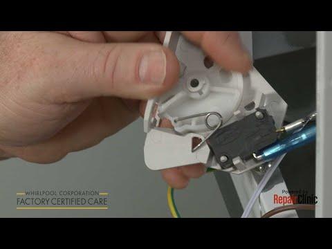 Lower Interlock Support - Whirlpool Microwave #WMH31017AS2