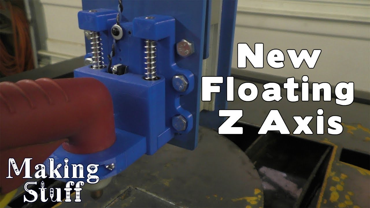 Diy Cnc Plasma New Floating Z Axis Youtube