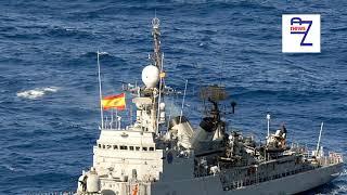 Royal Navy scrambled as WARSHIP sails past Gibraltar blaring Spanish national anthem