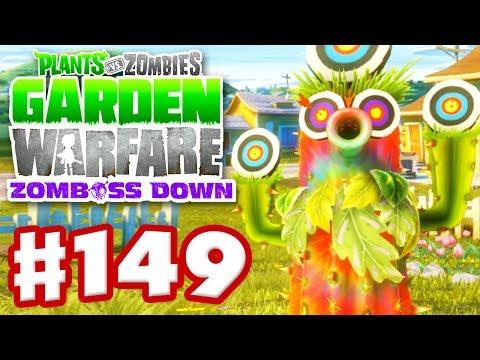 Plants vs. Zombies: Garden Warfare - Gameplay Walkthrough Part 149 - Obvious Cactus (Xbox One)