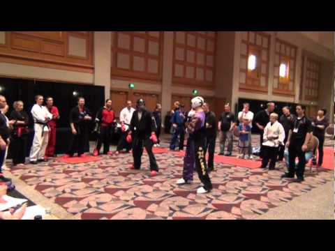 Nathan Thorn vs Jackson - All American Karate Cup