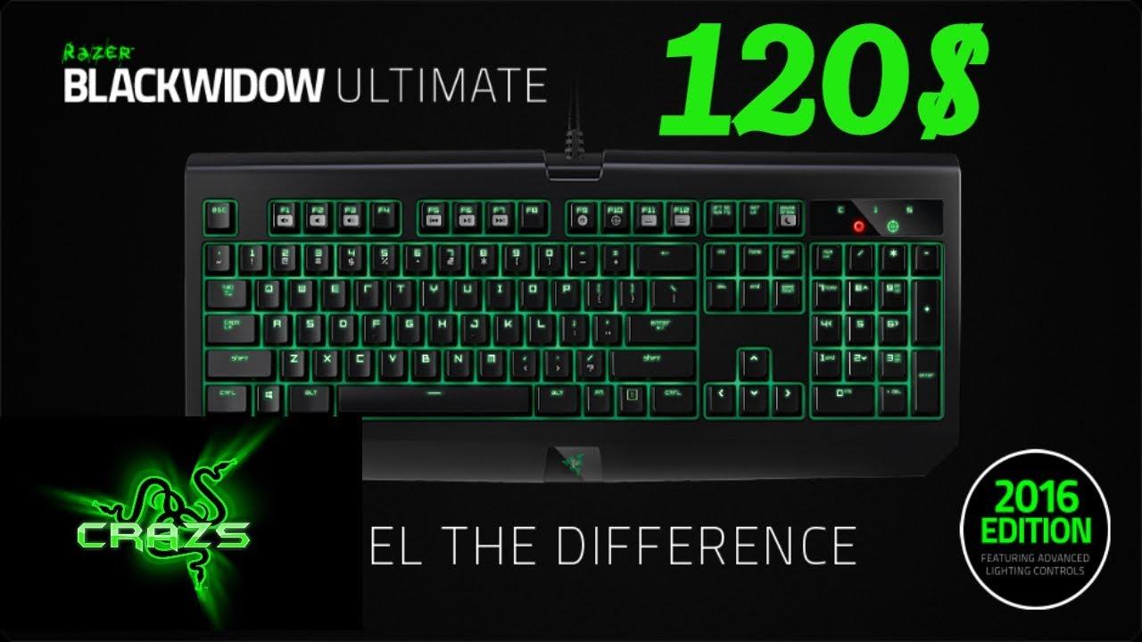 Trên tay Razer BlackWidow Ultimate 2016.Giá 120$ Chuẩn cho các gamer streamer.Show Gear Razer phần 1