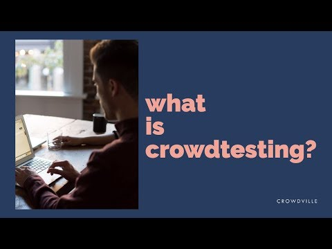 What is crowdtesting?