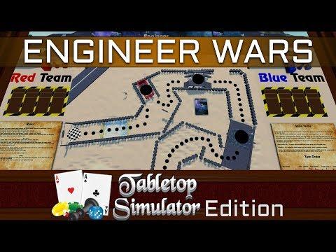 Engineer Wars in Tabletop Simulator?! - First Stream Playtest (Thanks to CaedesEnder!)