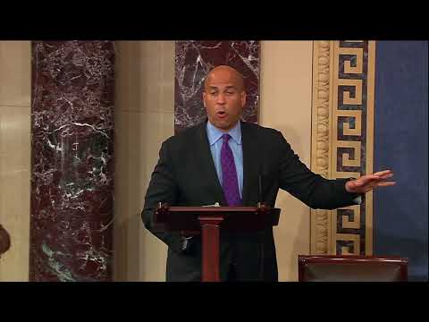 Sen. Cory Booker Urges Aid for Puerto Rico