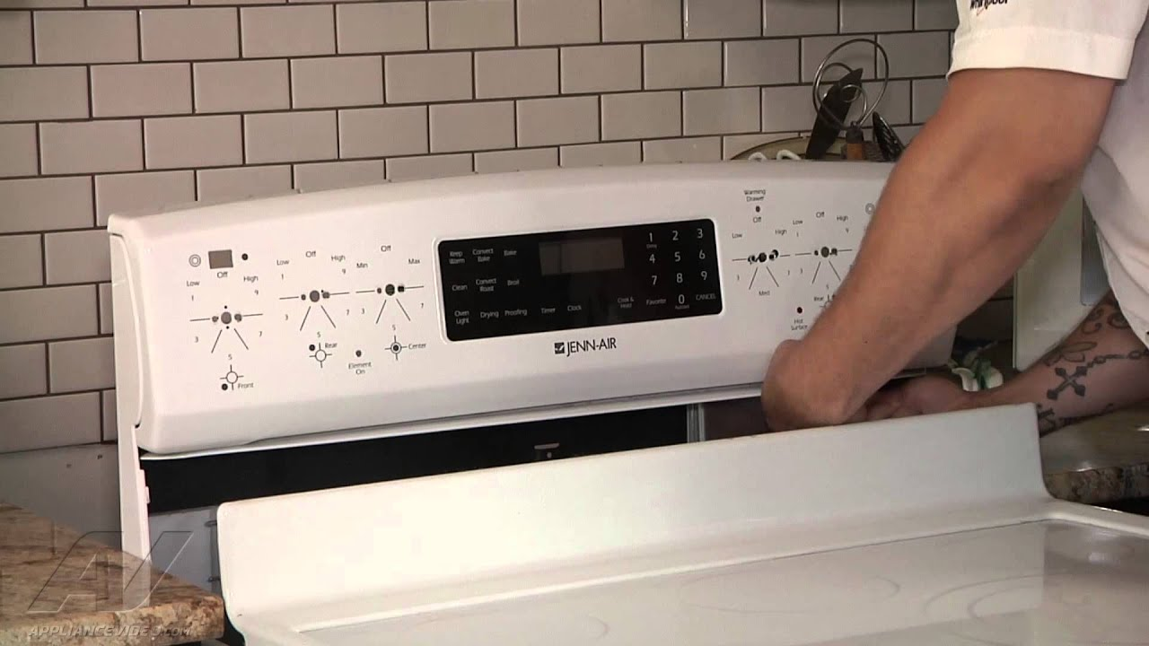 Jenn Air, Whirlpool & Maytag Stove Diagnostic - Touch pad control not  working - Repair & Diagnose