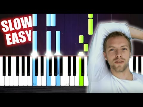 Coldplay - The Scientist - SLOW EASY Piano Tutorial by PlutaX