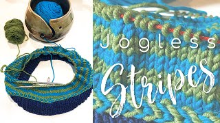 Time to learn how to knit the perfect and easy knit jogless stripes using a yarnover. That is right, you might have learned how to work jogless stripes by slipping a ...