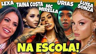 Baixar MC MIRELLA, LEXA, TAINÁ COSTA, MC LEOZIN, LUÍSA SONZA E URIAS NA ESCOLA!