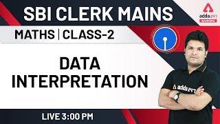SBI Clerk Mains 2020 | Data Interpretation (Part-2) | Maths for SBI Clerk Mains Preparation