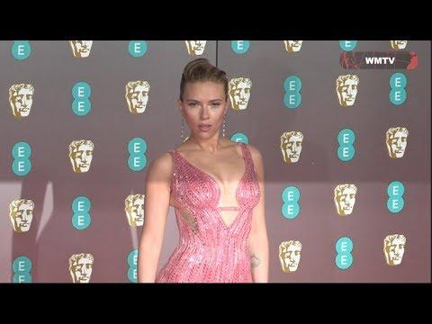 Download 2020 British Academy Film Awards Arrivals - Scarlett Johansson, Charlize Theron, Margot Robbie