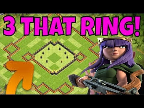 How To Attack Ring Bases Th11 3 Star | Clash Of Clan