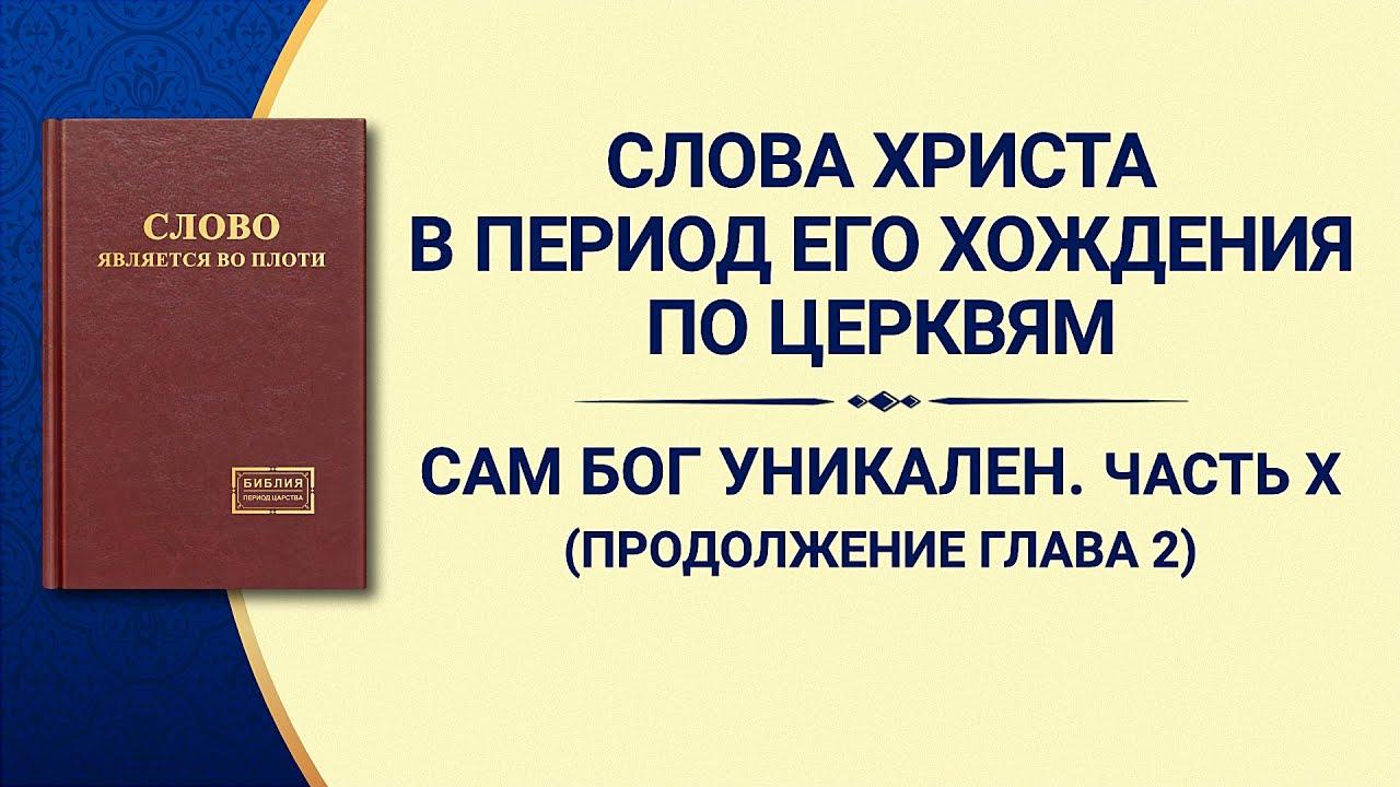 Слово Всемогущего Бога «Сам Бог уникален. Часть X Бог — источник жизни всего сущего (IV)» Продолжение части 2