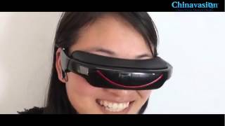 72 Inch Virtual Screen Cinema Glasses  Video Glasses With Large Virtual Display Screen2)