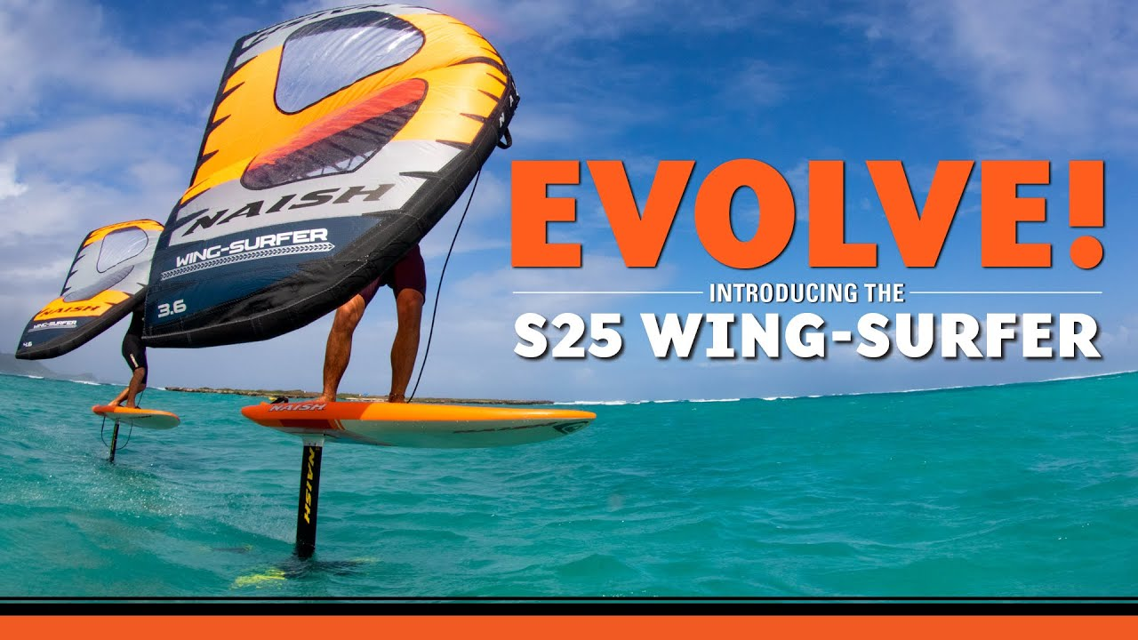 Introducing the new Naish S25 Wing-Surfer
