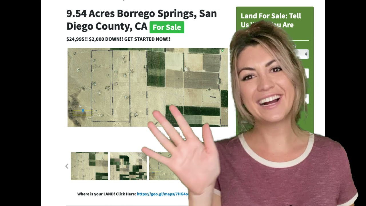 9.54 Acres Borrego Springs Property for Sale in San Diego County, CA