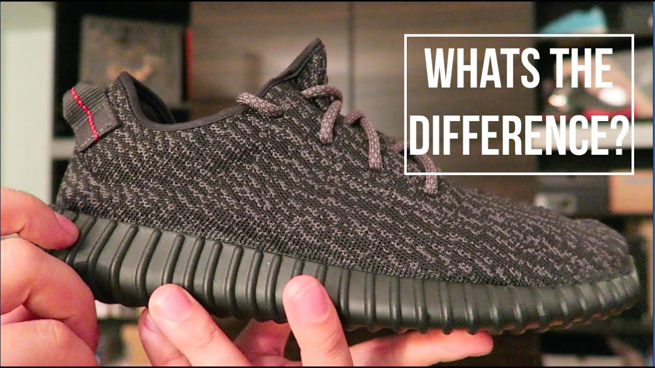 yeezy pirate black 2.0 difference