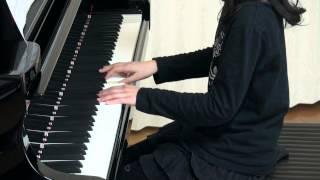 使用楽譜;ピアノスタイル2012年2月号より.