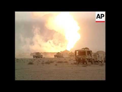 General Tommy Franks, Burning Oil Wells, Umm Qasr, Iraqi Prisoners