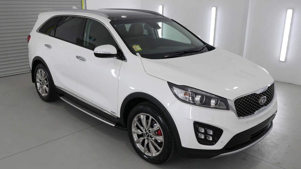 KIA SORENTO GT Snow White Pearl Auto K287780 - YouTube