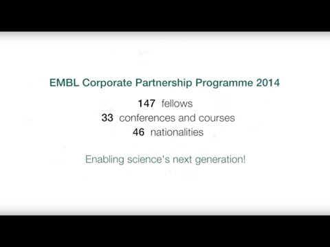 EMBL and corporate partners support young scientists