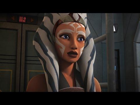 Star Wars Rebels S01E13  Ahsoka Tano and Darth Vader Scene