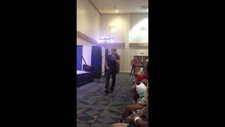 Vic Mignogna talking about Level E