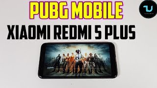 Xiaomi Redmi 5 Plus PUBG Gameplay/Snapdragon 625/Adreno 506/Gaming test