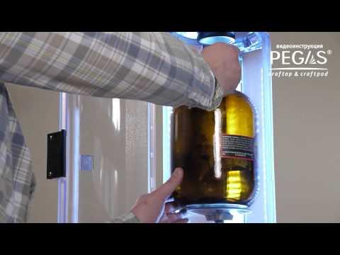 Устройства для розлива пива из кег в стекло PEGAS Craftap&Craftpad