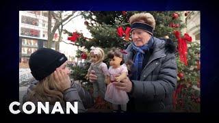 Conan Bought Taylor Tomlinson An American Girl Doll - CONAN on TBS
