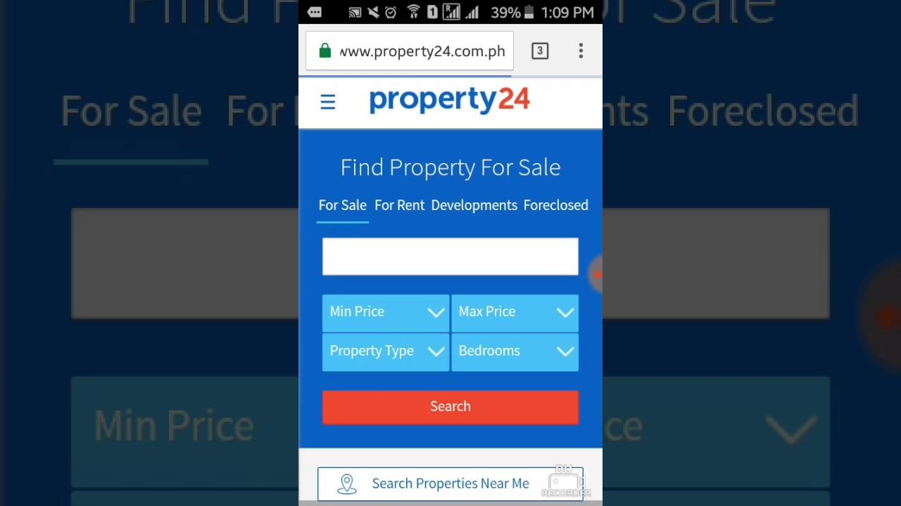 Olryt Tutorial: Register at Property24 com ph