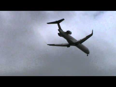 CRJ-900 Air One (cityliner) / Landing in Naples Capodichino Airport (LIRN/NAP)