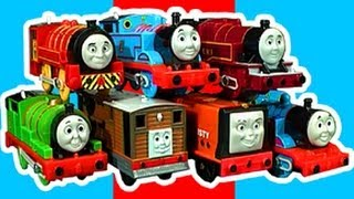 Repeat youtube video Thomas The Tank Trackmaster Ultimate Review