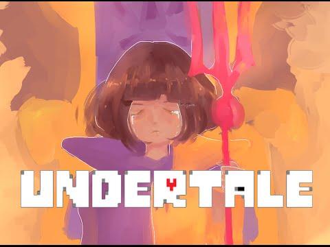 Undertale Speedpaint : Underworld Frisk