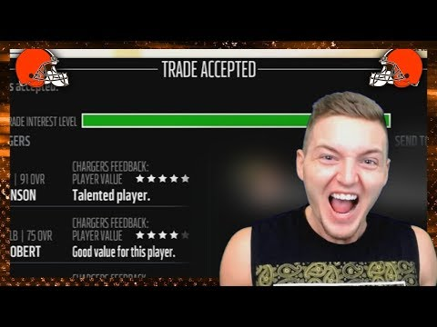 NFL SUPERSTAR TRADED! (Madden 18 Franchise)